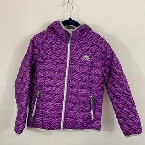 Snozu Purple Quilted Puffer jacket